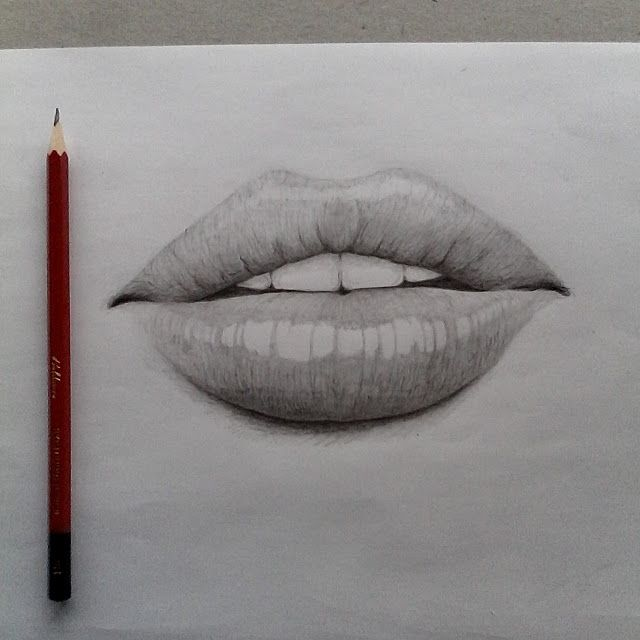 Drawn pice lip Drawing ideas drawing lips lips