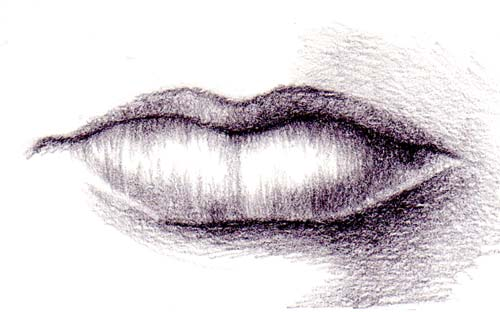 Drawn photos mouth Zindy Lips dk Tutorial Zone