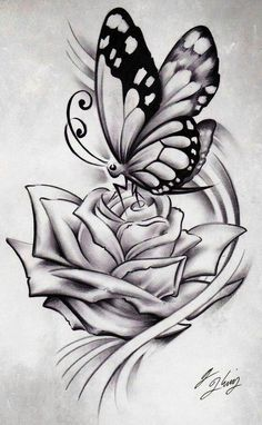 Drawn pice rose Tattoo drawing drawing rose tattoo