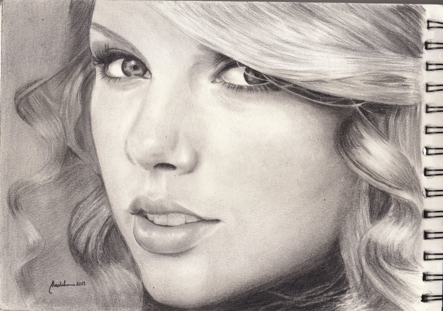 Drawn portrait taylor swift By swift swift taylor DeviantArt