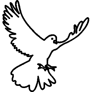 White clipart pigeon flying Image birds clipart Pigeon cadworxlive