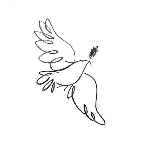 Drawn pice dove Best 25+ The Peace ideas