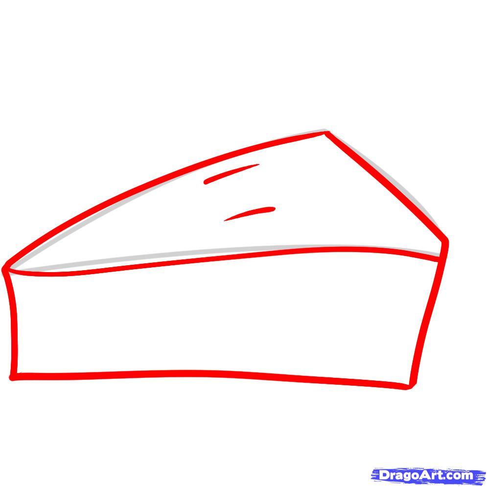 Drawn pie How Step Apple Step 2