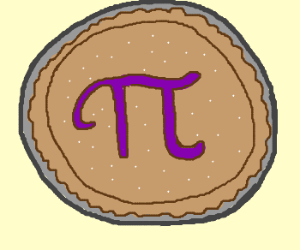 Drawn pie By (drawing seconds! in 9