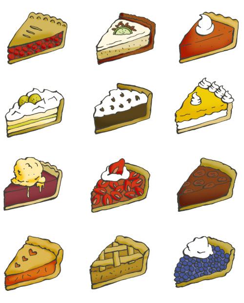 Drawn pies #3