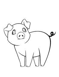 Drawn pig Sketches ~lonelyangelsansa deviantART web drawings