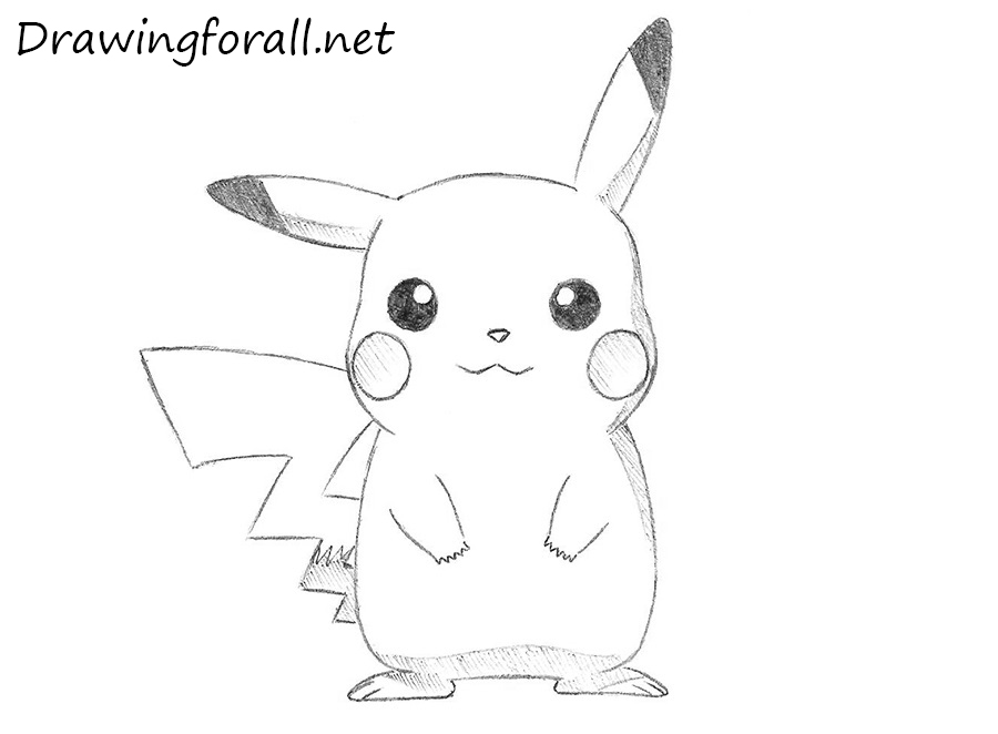 Drawn pikachu DrawingForAll net to Draw How