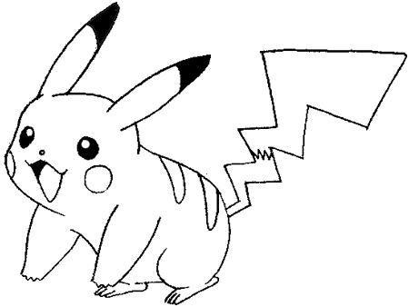 Drawn pikachu With Step Step Pikachu Smiling