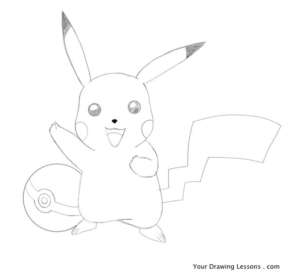 Drawn pikachu Pencil Your Pikachu How Lessons