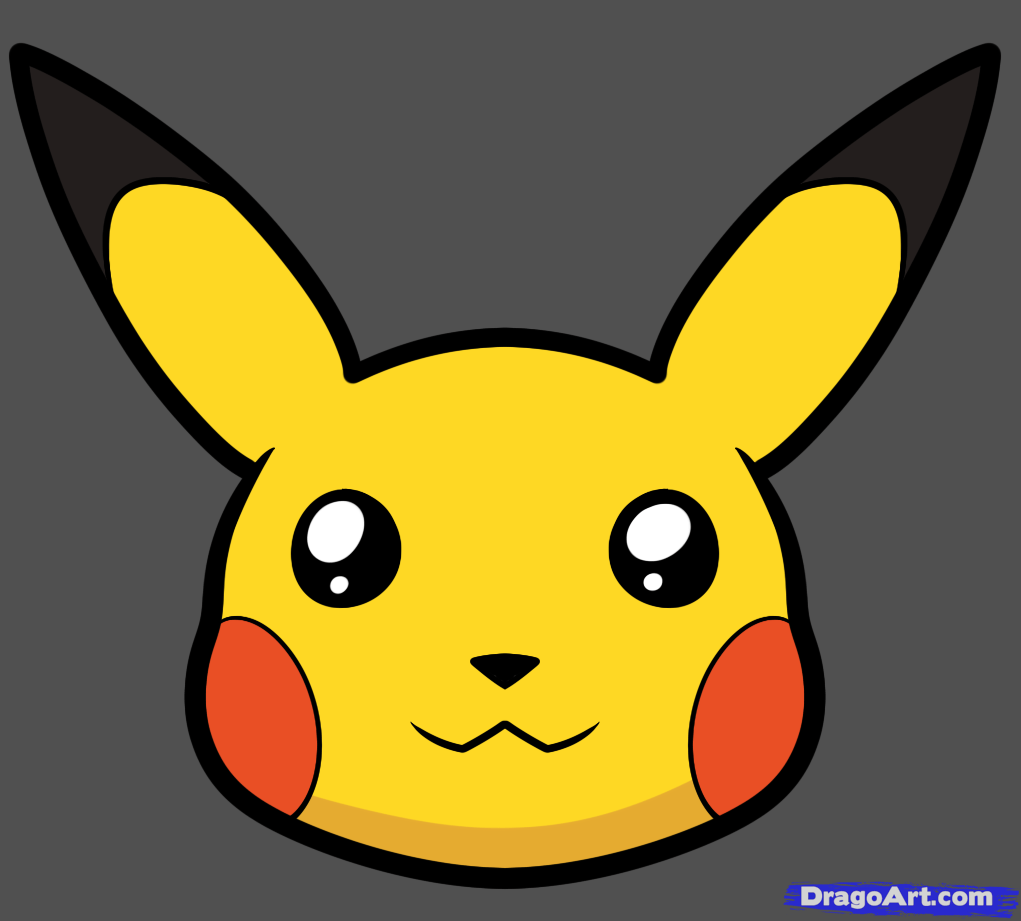 Pikachu clipart cartoon By pikachu to Pikachu Draw