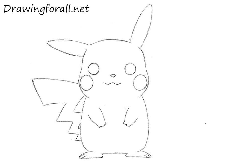 Drawn pikachu Drawing DrawingForAll Pikachu to net