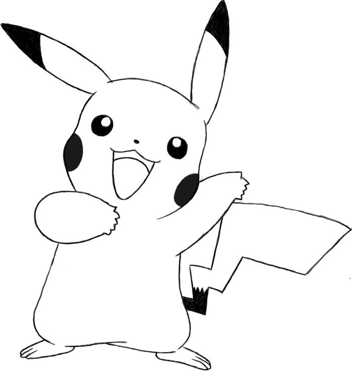Drawn pikachu To Draw How Pikachu Central