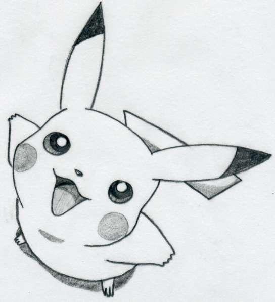 Drawn pikachu To Easily How Pikachu Pikachu