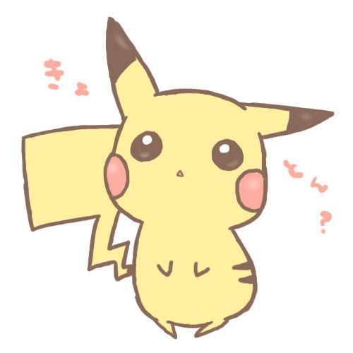 Drawn pikachu anime Ideas Best Anime Cute anime