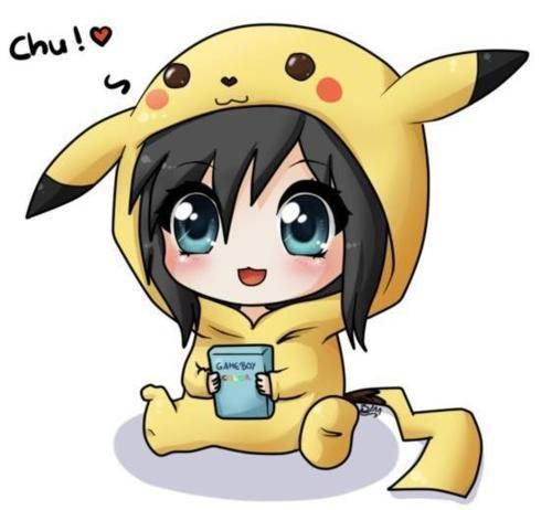 Drawn pikachu anime On anime kawaii 25+ ◕‿