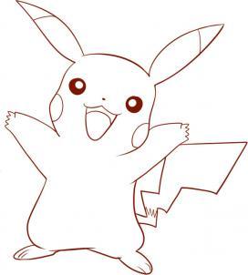 Drawn amd pokemon Pokemon pikachu draw Hellokids to