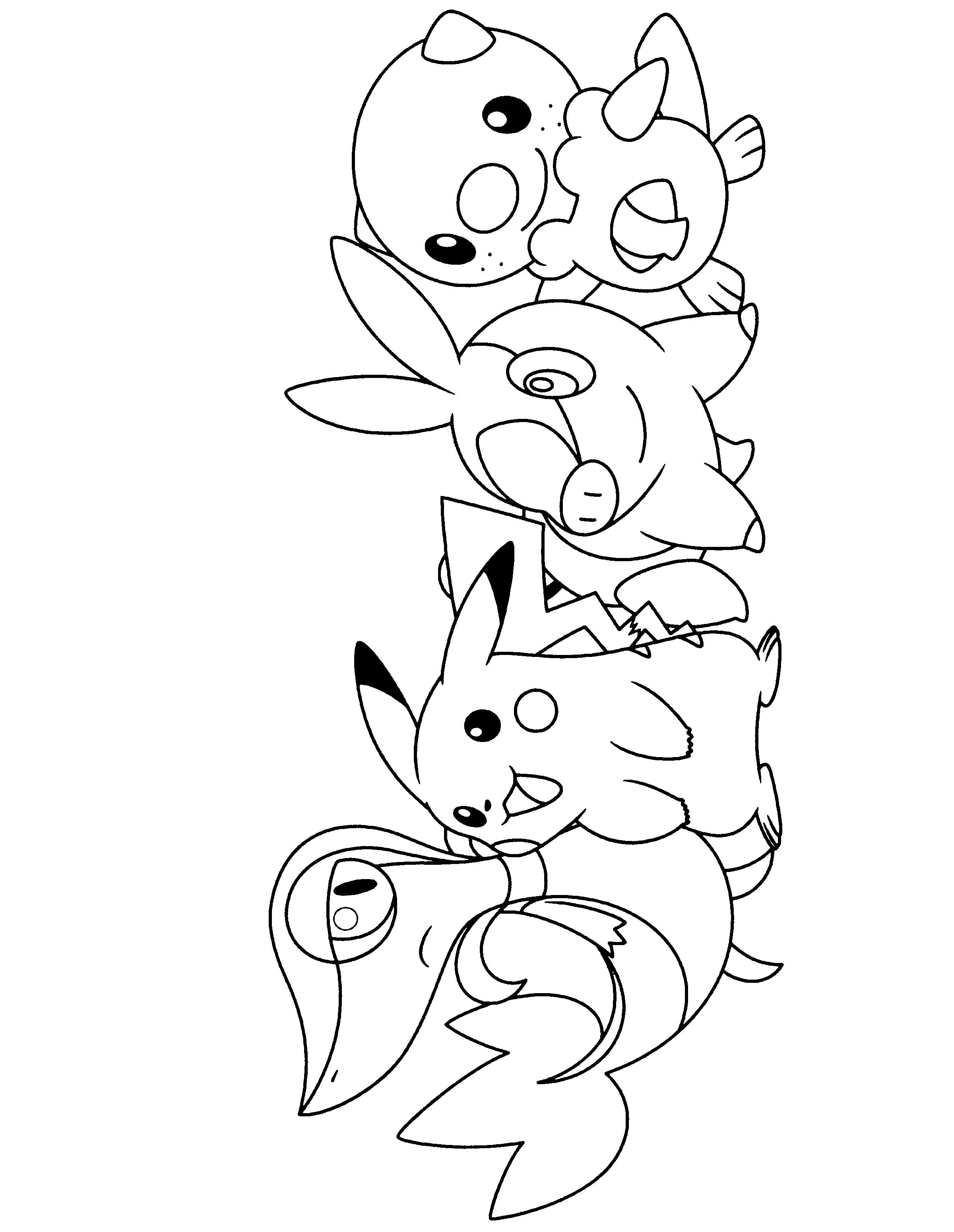 Drawn pikachu black and white White black pokemon Google pages