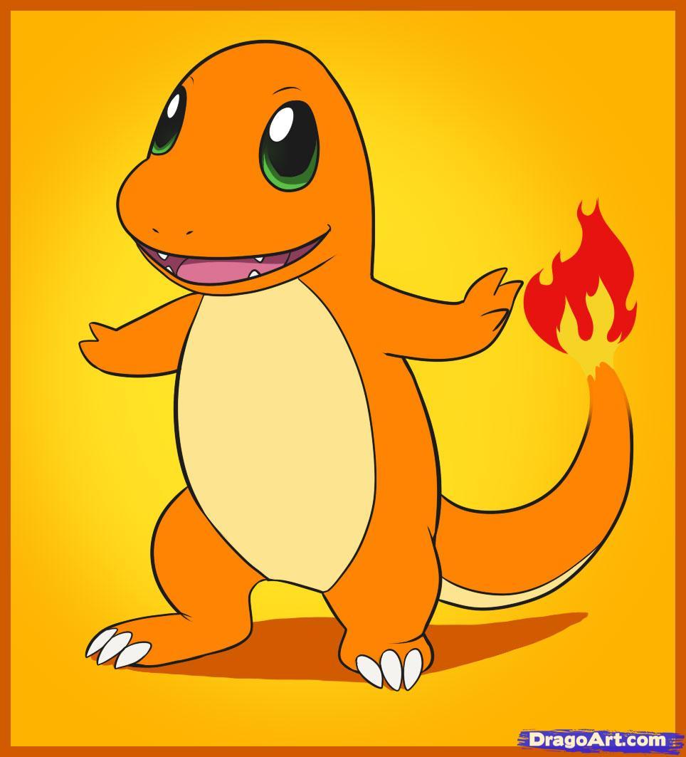 Drawn pikachu cartoon character Characters Anime Step draw pokemon