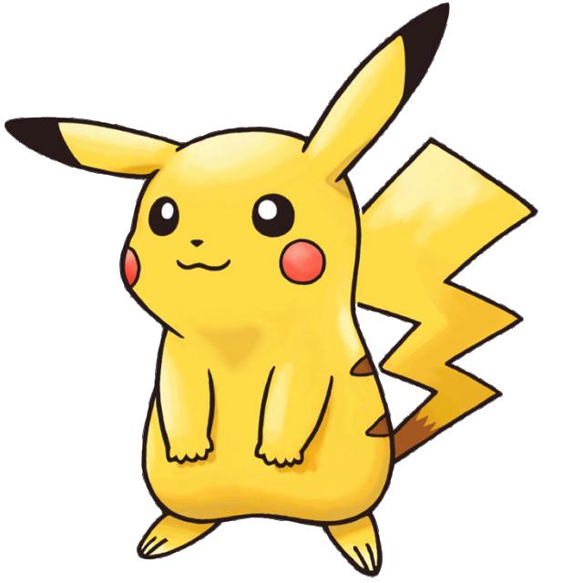 Drawn pikachu cartoon character (Character) Bomb Giant Pikachu Pikachu