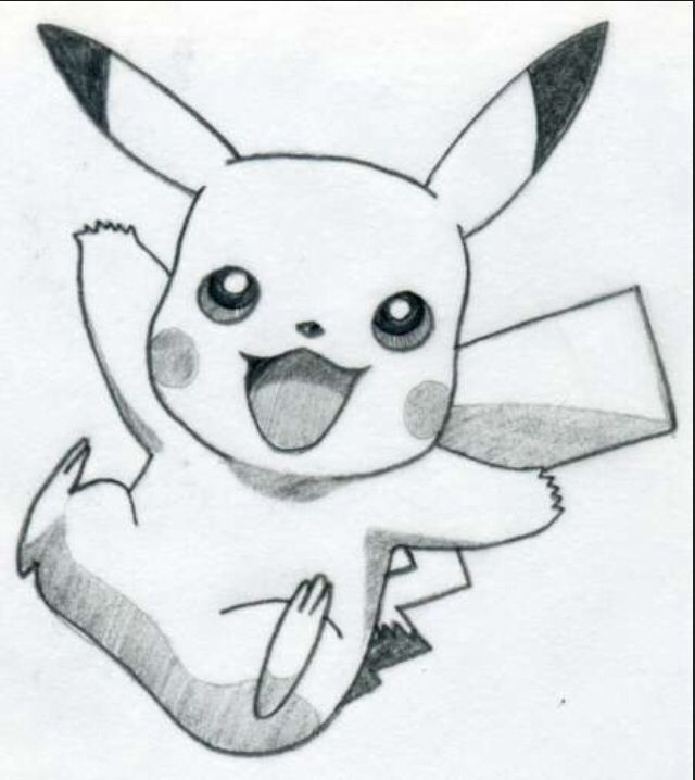 Drawn painting pikachu This if drawing better 60