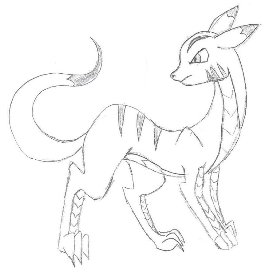 Drawn pikachu dragon Lazard/cat/pikachu/dragon/snake on mudfoot4life DeviantArt by