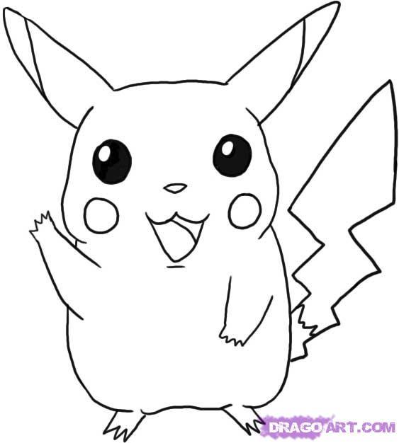 Drawn pikachu easy To Robocast draw step how