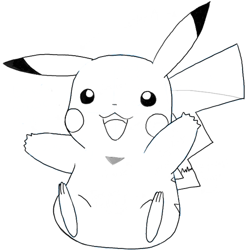 Drawn pikachu easy How To png Pikachu Face