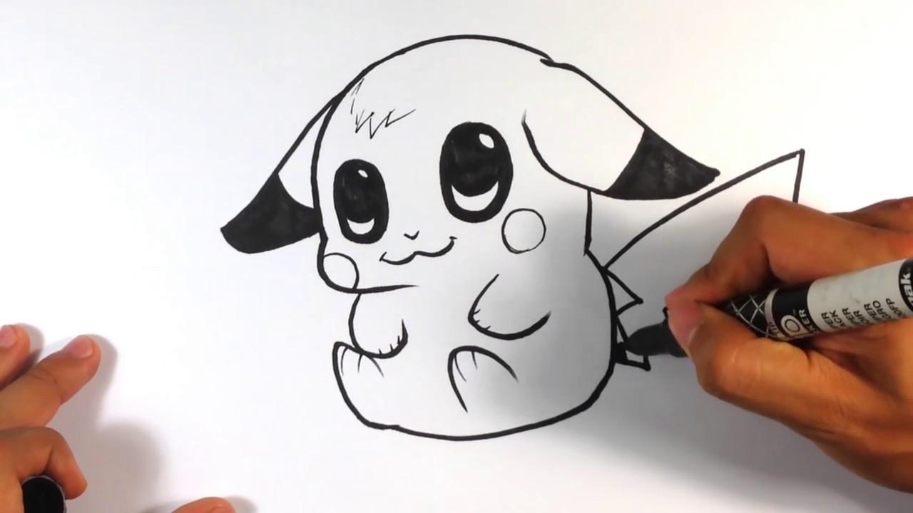 Drawn pikachu esay Draw to to to Draw