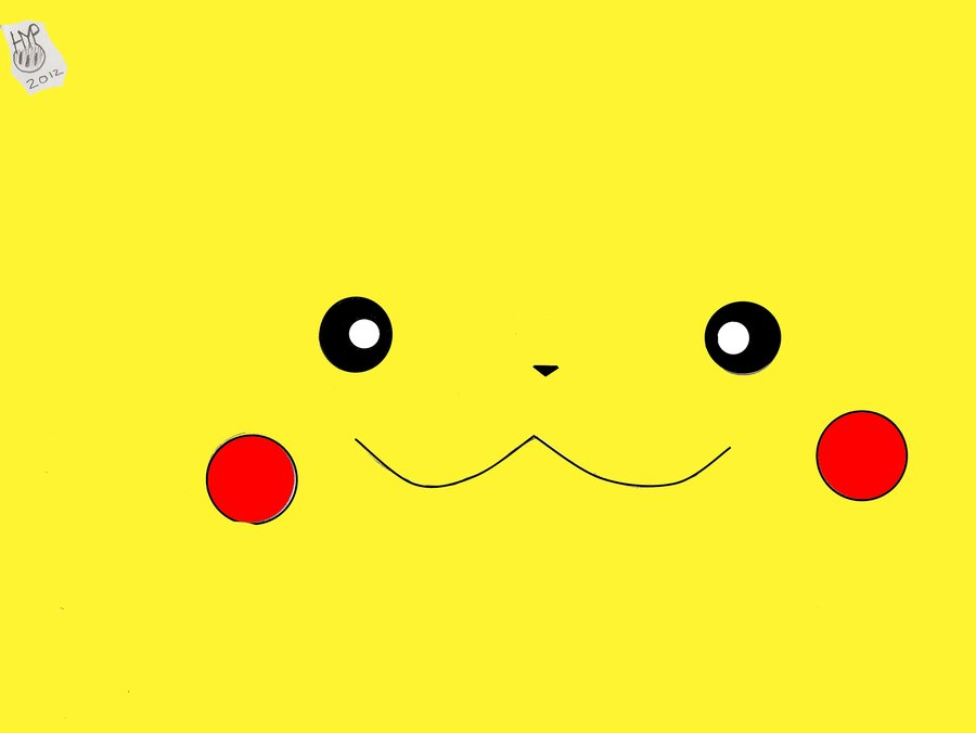 Drawn pikachu face On Face Pikachu by DeviantArt