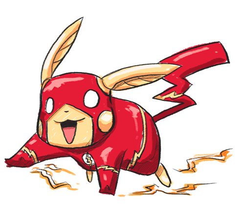 Drawn pikachu flash  Blog Jones' Dan