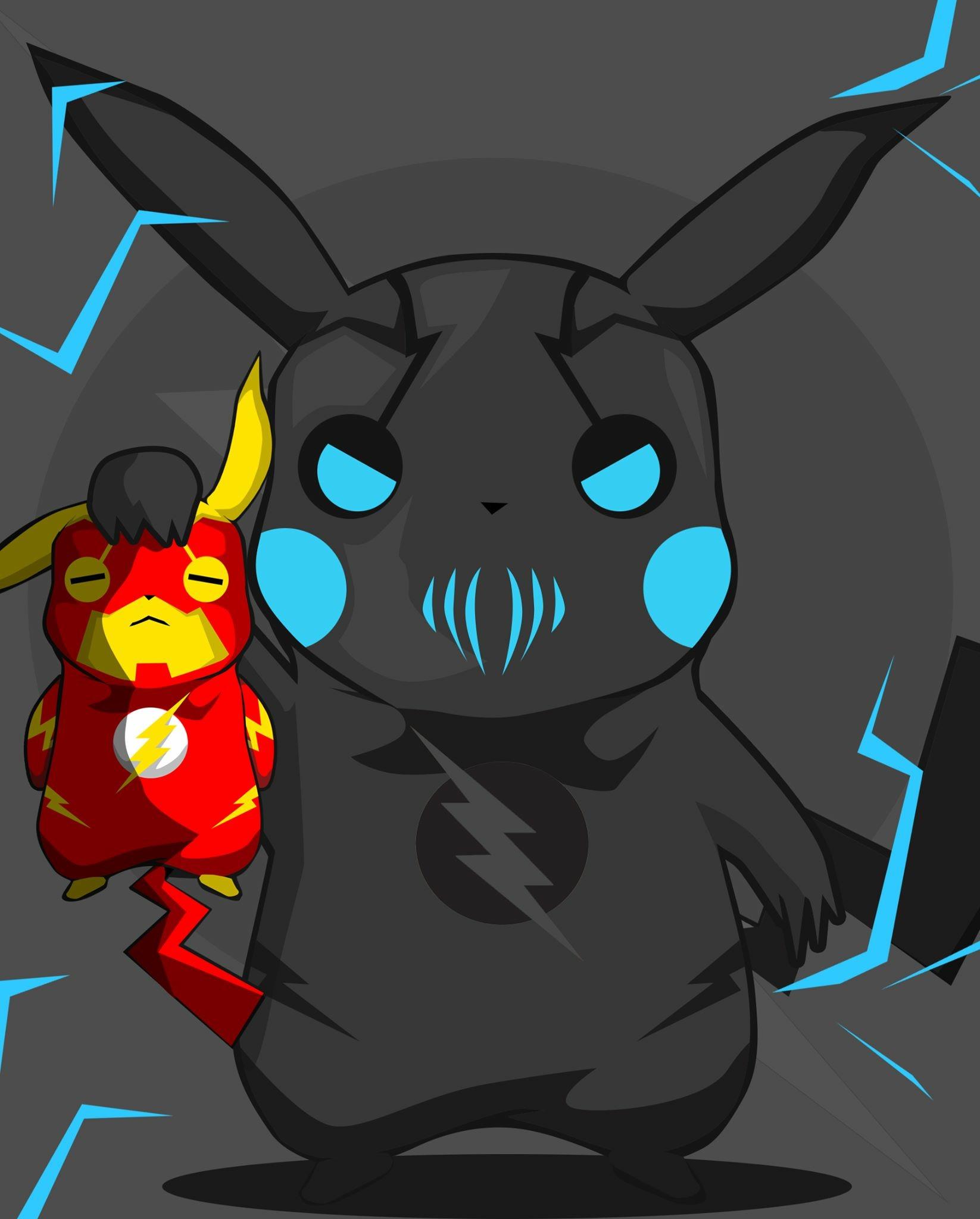 Drawn pikachu flash : FlashTV Flash Flash Crossover