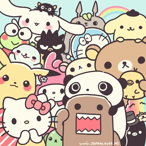 Drawn pikachu hello Rilakkuma kiritori my hello hello