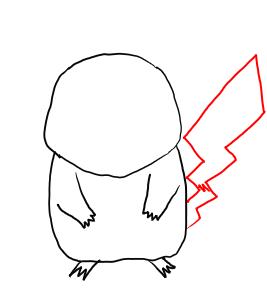 Drawn painting pikachu Draw Step  by Step