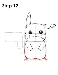Drawn painting pikachu How 12 Step Poster