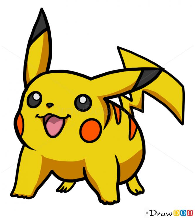 Drawn pikachu picachu To to Pikachu Pikachu Draw