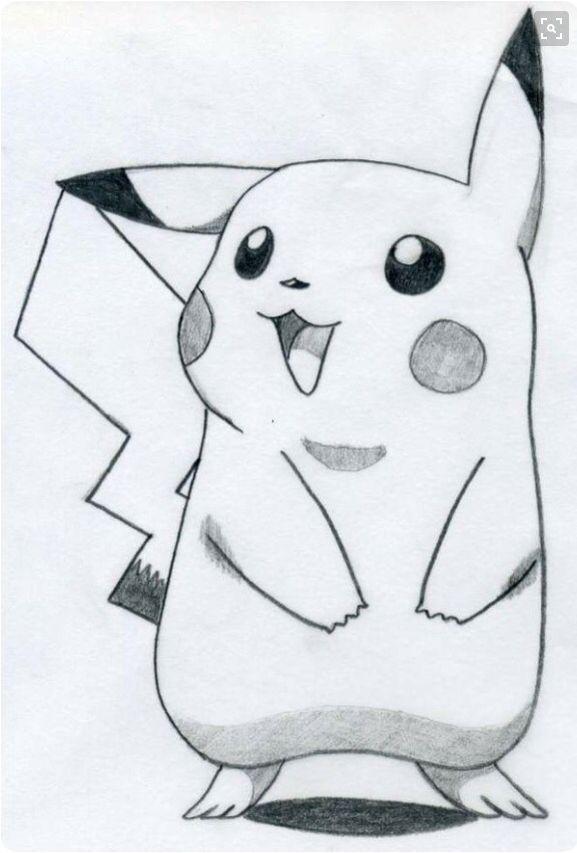 Drawn pikachu picachu From drawing Best on Pokemon