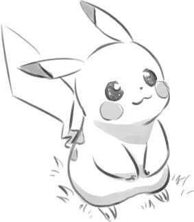 Drawn pikachu picachu Ideas ^ good ♡ to