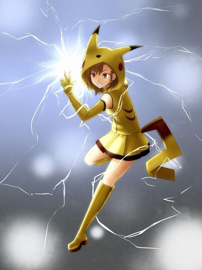 Drawn pikachu pokemon female human Pikachu Pikachu! Pinterest dressed Pikachu