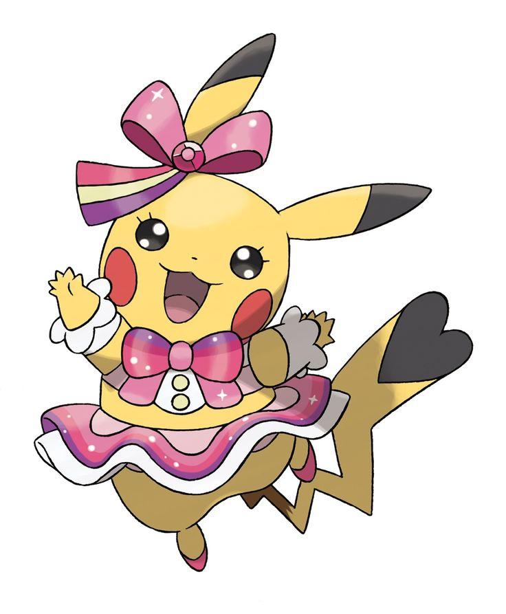 Drawn pikachu pokemon female human Pokemon on wearing costumes Search