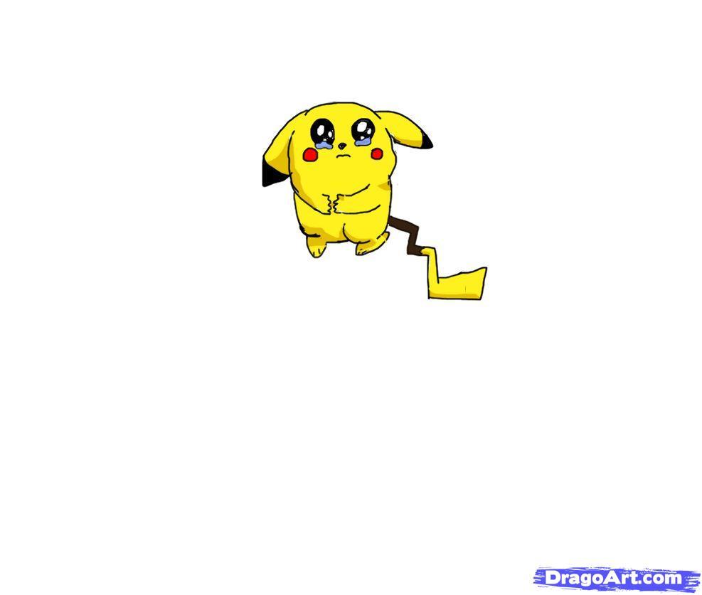 Drawn pikachu sad Draw Pokemon Characters to Pikachu