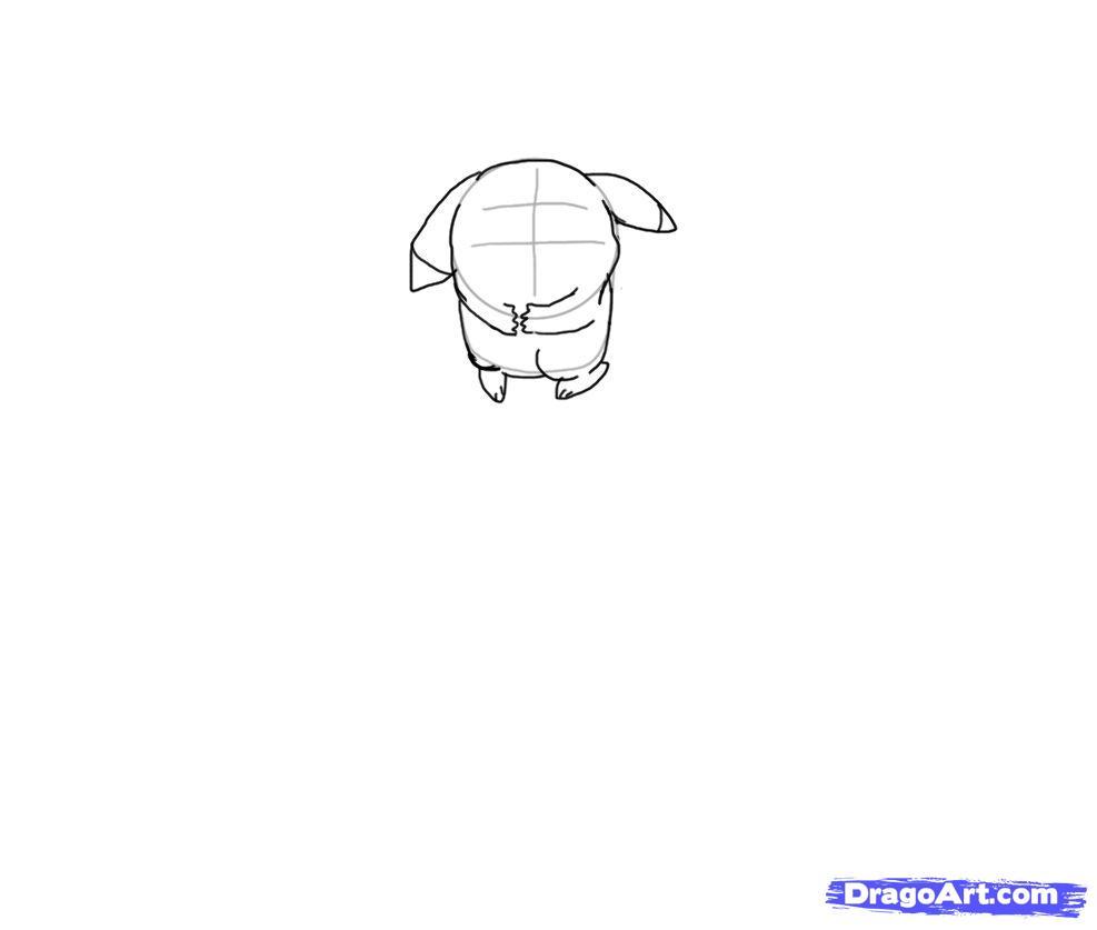 Drawn pikachu sad How by Step to Draw