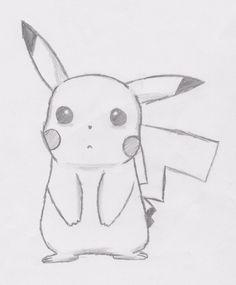 Drawn pikachu sad #sketch (sad) #pokemon by My