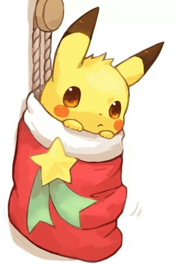 Drawn pikachu santa A in being certain be