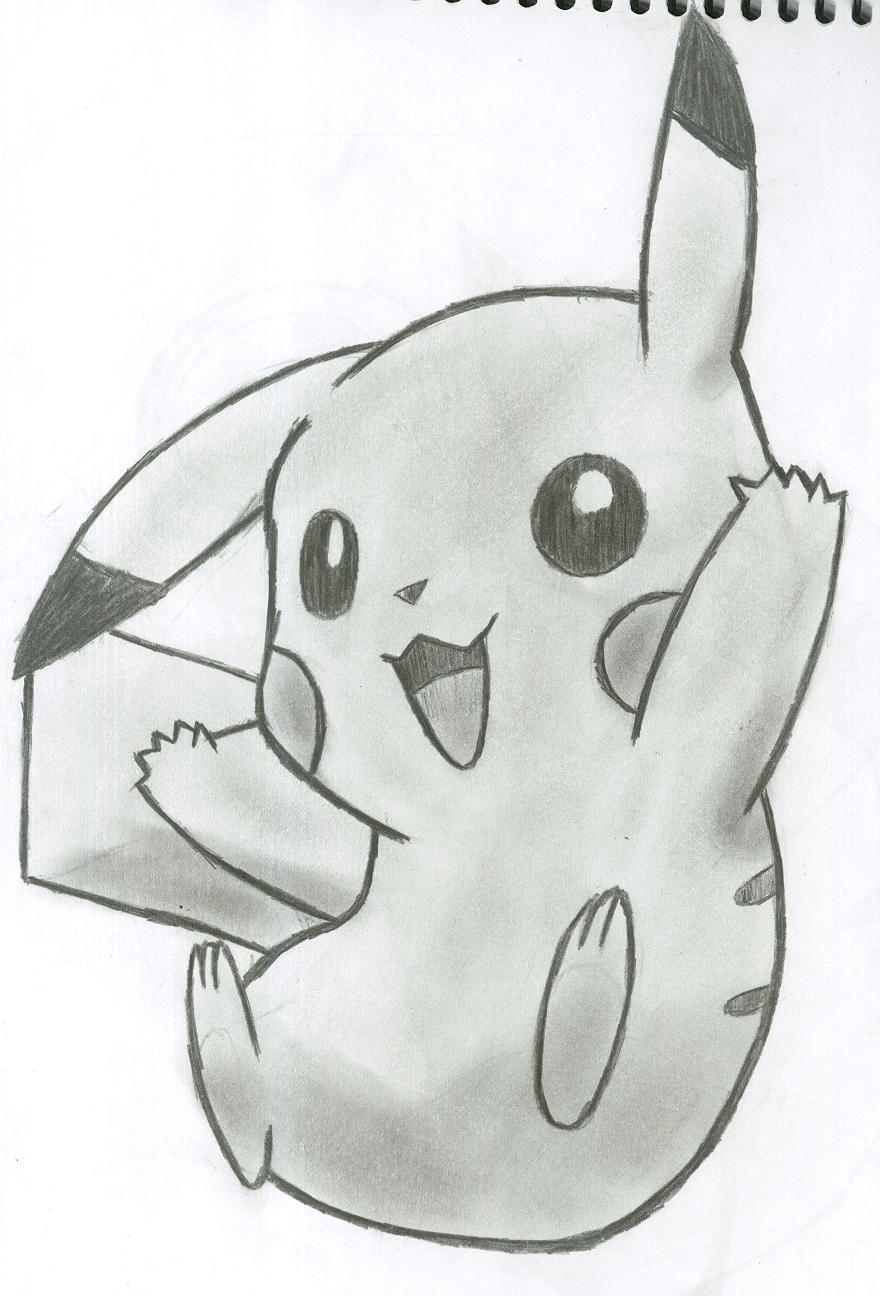 Drawn pikachu shaded By Pikachu Pikacshu DeviantArt on