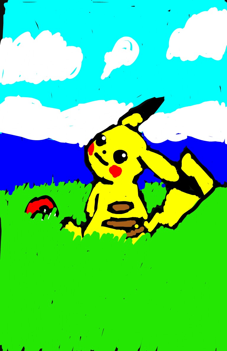 Pikachu clipart snapchat Hope on like you Drew