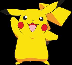 Pikachu clipart transparent ( Vector Logo CDR) Download