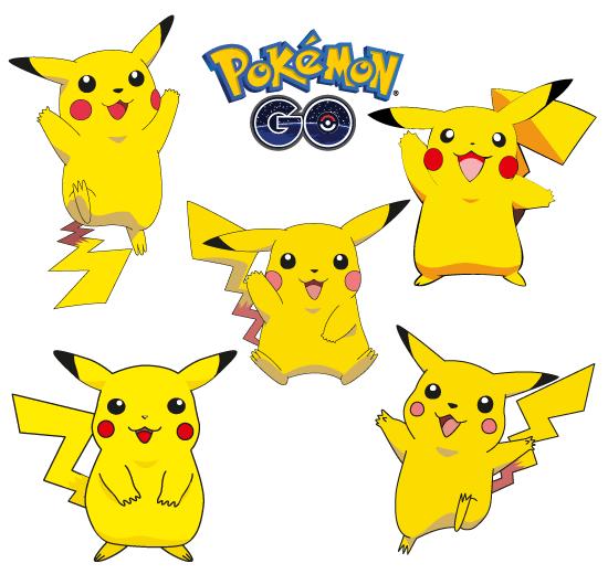 Pikachu clipart vector Step  Pokemon Pikachu Malerier