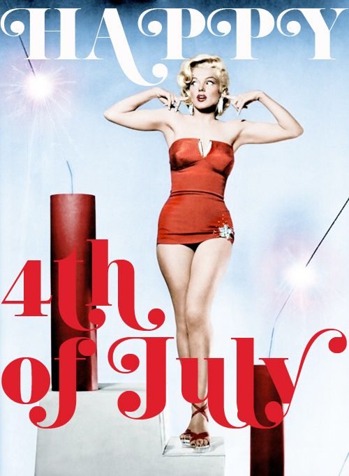 Drawn pin up  4th july July · 445 Up the