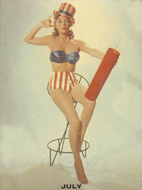 Drawn pin up  4th july July pin From theme London