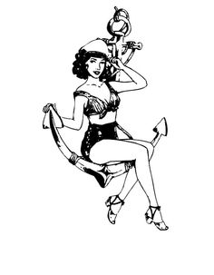 Drawn pin up  anchor Pin drawing Pinteres… available 00